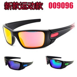 Wholesale new fashion men s women s black frame Bicycle Glass sun glasses fuel cell sunglasses A sunglass Free Ship