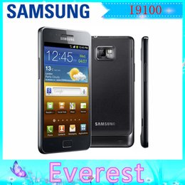 Wholesale Hot sale Original Unlocked Samsung Galaxy S2 I9100 G GB ROM MP GPS WIFI Touchscreen Refurbished Smartphone
