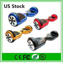 Ship From US hoverboards Smart Balance Wheel 6.5 Inch Electric Skateboard Electric Scooters Wholesale Price Fast Free Shipping