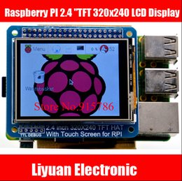"""Wholesale-Raspberry PI 2.4 """" TFT 320x240 LCD Display With touch HAT for Raspberry Pi A +   B +   PI 2"""
