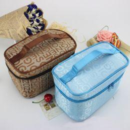 Splendid New Women Make Up Bags Portable Travel Toiletry Makeup Cosmetic Bag Organizer Holder Handbag Waterproof Wash Bolso