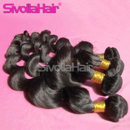 Wholesale Cheap Natural Human Hair Extensions Mocha Unprocessed Brazilian Malaysian Peruvian Indian Loose Wave Bella Human Hair Bundles b
