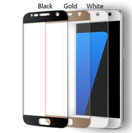 Wholesale Hot Sale Premium H Full Covered Anti Scratch Tempered Glass Screen Protector for Samsung Galaxy S7 SM G930A G9300 G930 protective film