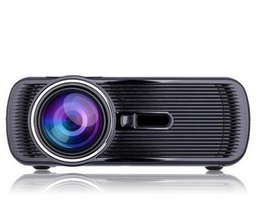 .BL-80 1080P HD Mini Portable LED Cinema Home Theater Projector 3D AV USB SD VGA HDMI 1920x1080 LCD Projectors