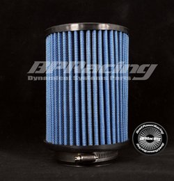 Wholesale BPRACING quot Inch mm Universal New Round Straight Cotton Gauz Air Filter