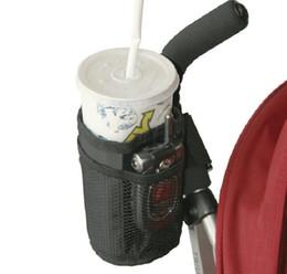 Wholesale Waterproof Bottle Cup Holder for Stroller Bottle Thermal Bag Baby Buggy Cup Holder Soft Buggy Cup for Stroller Wheelchair Rollator Walker