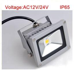 AC 12V 24V 10W LED outdoor flood light low voltage landscape lighting led lighting waterproof IP65 with high lumen bridgelux chip