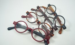 retro round frame reading glasses men women plastic frame round glasses presbyopic eyewear diopter 15 125