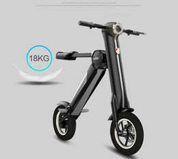 Wholesale 2017 Two Wheels Electric Scooters Board Scooter bicycles Folding bike Portabler bikes Foldable Electric Scooter Bluetooth Smart Balance
