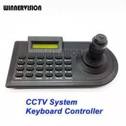 Wholesale 4 Axis CCTV Analog AHD High Speed Dome PTZ Camera Keyboard Joystick RS485 CCTV System Equipment Keyboard Controller KD