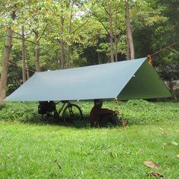 Wholesale 3F ul Gear Silver Coating Anti UV Ultralight Sun Shelter Beach Tent Pergola Awning Canopy T Taffeta Tarp Camping Sunshelter