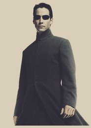 Wholesale The Matrix Keanu Reeves Andy Wachowski Hot Classical movie film paper Poster wall sticker