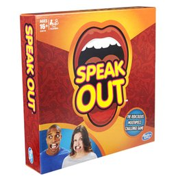 Wholesale In stock Speak Out Game KTV party newest best selling Amusement Toys DHL