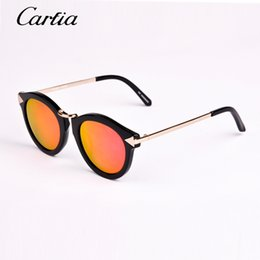 Wholesale 2015 new arrival mirror polarized KW arrow sunglasses harvest brand designer sun glasses women kw sunglasses black red green glasses