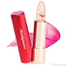 Wholesale Kailijumei Flower Magic Color Temperature Change Moisturizer Bright Surplus Lipstick Lips Care Colors