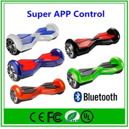 Smart Balance Wheel Electric Scooter Hoverboard Smart Balance Scooter Self Balancing Drift Scooter With Bluetooth Key Free Drop Shipping
