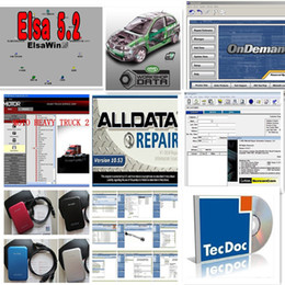 Wholesale Newest Auto repair program v10 ALLDATA MITCHELL Estimator MITCHELL MANAGER PLUS in GB External Hard Disk High Quality