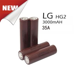 Wholesale 100 mah Cell Battery HIGH Drain amp Best V LGHG2 Rechargeable Lion Batteries For Power Tools Fedex Free Ship