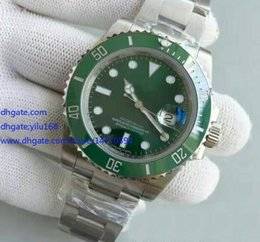 Wholesale Mens Supplie Top Quality Mens Noob Factory V6 Version mm LV Green Asia eta Movement Automatic Mens Watch Watches