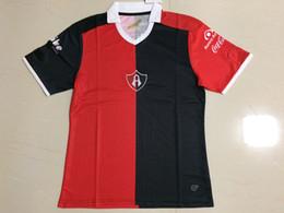 Wholesale 16 Mexico Club Atlas Soccer Jersey Jerseys Best Quality Customized Mexico Club Atlas Red Black Soccer Jersey
