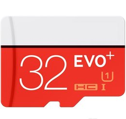 EVO Plus 32GB 64GB 128GB Class10 UHS-1 MicroSDHC TF SD Card for Android Powered Tablet PC Digital SmartPhones Up 80MB s EVO+ 1pcs moq