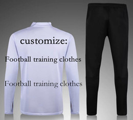 Wholesale Customize football club training clothes football sportswear Thai quality buy pieces free EMS shipping