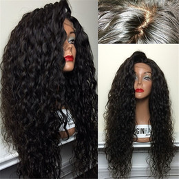 Peruvian Hair Full Lace Curly Wigs Unprocessed Glueless Full Lace Human Hair Wigs Long Curly Glueless Wig With Combs