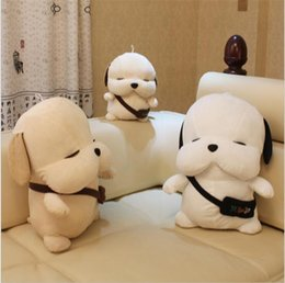 Wholesale white plush toys dog stuffed animals toys Patrol dog plush toys anime figures collectible toys soft toys girls toys kids toy
