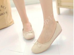 Soft leather women Roll Up shoes ballerinas wholesale foldable shoes