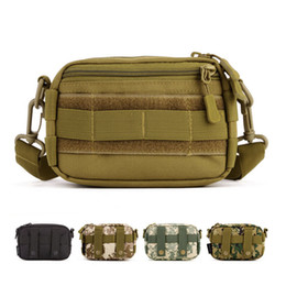 Wholesale MOLLE Enhanced Running Muddy Kit Tool Utility Male Small Messenger Bag Heavy Duty Advance Defense Ultralight Range Tactical Gear