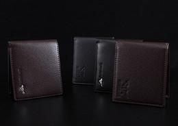 Wholesale Cheap Bifold Wallets - Cheap New PU Leather Men Wallets Purse & Bifold Brand Wallet Retro Design Style Purse For Men 2016 New Hot