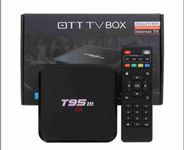 Wholesale Android Tv Box T95M GB GB Built in G WiFi Amlogic S905 KODI Android Quad Core H K media player