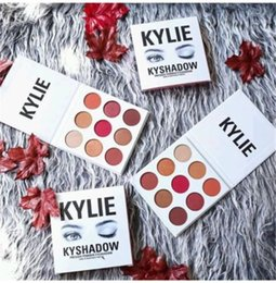 Wholesale Sending Fast kylie KyShadow Burgundy Palette Kylie Jenner Cosmetics Eyeshadow Of Your Dreams Makeup Eye Shadow vs Bronze Palette