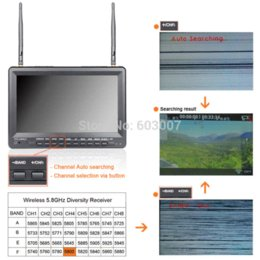 FEELWORLD no blue screen 10 inch fpv monitor built in dual receiver and battery fpv microphone