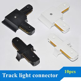 Track Light Rail Connectors Track Fitting LED Track Rail Connector Track Connectors Corner Connector Aluminum Free shipping 10pcs lot