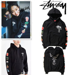 Wholesale Street wear mens hip hop clothing kpop clothes taylor gang drake oversized Men and women Harajuku retro wind flags hoodies