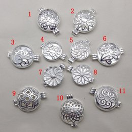Wholesale Sterling Silver Crafting Wholesale - 925 sterling silver Opening floating Locket Charms New pictures Phase box pendant For Fashion DIY Jewelry accessory Crafts
