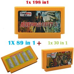 Wholesale 3pcs Newest bit Game Card pin game cartridge FCompact Games Player Card For TV Video Game in in in1 Contra