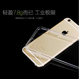 Soft TPU Clear case Ultra Thin Transparent Crystal Cases Shockproof Slim Back Covers For iPhone x 8 7 plus 6 6s plus 5s samsung note 8 s8