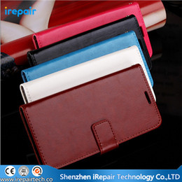 Wholesale For huawei ascend p6 p7 honor c Luxury Soft PU Leather Case Stand Wallet Phone Bag Cases Flip Card Solt Holder Cover Shell