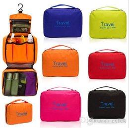 Wholesale Large Travel Toiletries Makeup Bag Pouch Hot Women Mens Wash Case Bag Hanging Brand New High Quality