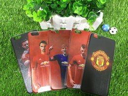 Wholesale Football Stars ManUtd A Variety of Options TPU cell Phone Cases Cover For IPhone6 s Plus For Samsung galaxy s7 S6 S7 Edge cases hybrid