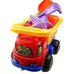 Wholesale New Arrival Children Sand Play Toys Beach Toy Beach Truck Baby Sand Beach Toy Tools Suit Pieces Of Children s Toys