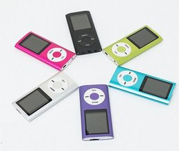 Wholesale MP3 MP4 Player LCD Video Radio Movie FM Support GB GB GB Micro SD TF Memory Card th Generation