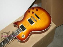 Custom Electric Guitar Honey burst Flame Guitar Factory China guitar Free shipping A77889