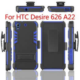 Wholesale Heavy Duty Rugged Defender Hybrid Kickstand Case For Huawei Union y538 HTC Desire A9 Cover Skin Belt Clip Shockproof