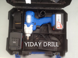 36V 3000mah charging electric wrench with two batteries and one charger