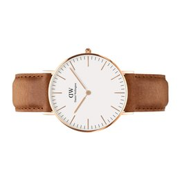 Wholesale supply classic durham dw watch casual watches sliver watch
