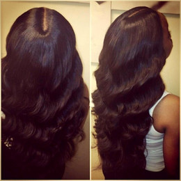 Wholesale 130 density Full Lace Human Hair Wigs Unprocessed natural wave human hair Wigs Virgin Peruvian Wave lace wigs In Stock