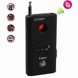 Wholesale Hidden Spy Camera Signal RF Detector CC308 CC308 Anti Eavesdropping Device Full range all round Wireless GPS CCTV Signal IP Lens GSM Laser